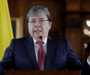 El ministro de Defensa, Carlos Holmes Trujillo