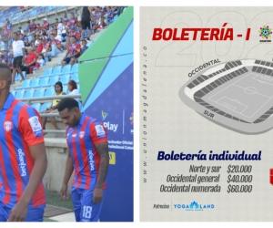 Las entradas conservan el precio del primer partido.