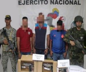 Capturados en San Pablo, sur de Bolívar.
