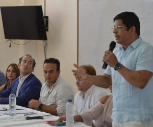El rector de Unimagdalena, Pablo Vera.