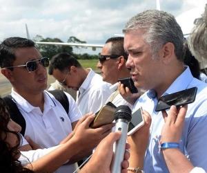 Presidente Iván Duque Márquez.