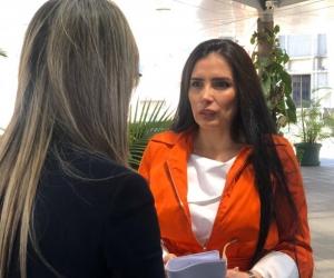 Vicky Dávila y Aida Merlano