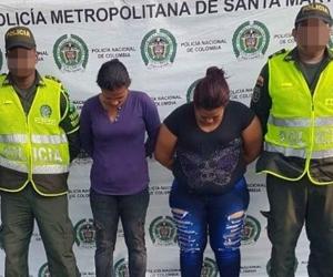La madre de 'Pupileto' quien es reconocido porque mostraba sus lujos en Facebook luego de robar en viviendas del norte de Barranquilla, fue capturada con 19 libras de marihuana en Ciénaga.