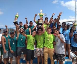 El Nacional Sub-21 de Rugby Subacuático se realizó en el Complejo Acuático.