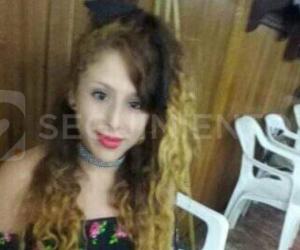 Foto de la víctima, Karoline Gloriana García García