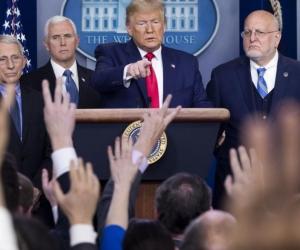 El presidente Donald Trump confirmó la muerte en una conferencia de prensa.