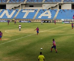 El partido se jugó en el estadio Sierra Nevada de Santa Marta