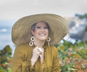 La actriz y periodista Maribel Abello
