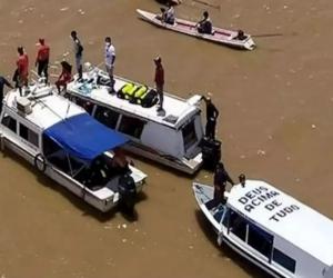 Autoridades trabajan por encontrar a los desaparecidos.