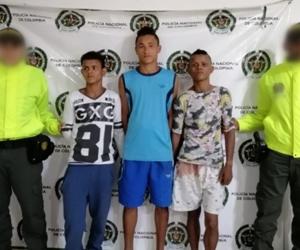 Los presuntos integrantes de banda 'Los Sayas'