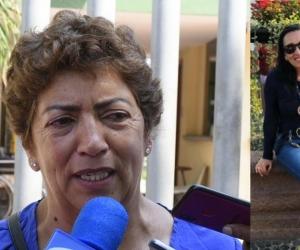 Sonia Medina, mamá de la ingeniera.