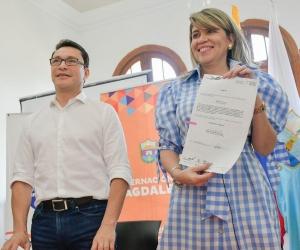 La alcaldesa Virna Johnson sancionó el acuerdo que crea la Secretaría de la Mujer