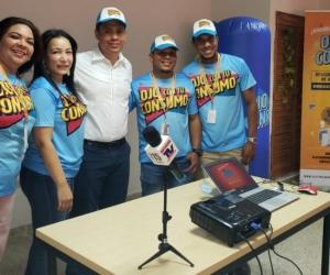 Evento de lanzamiento de la campaña 'Ojo con tu consumo' en Santa Marta.