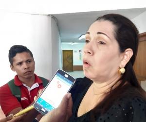 María Lourdes Granados, mamá de Haled Saghair, asesinado en 2019.