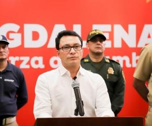 El gobernador le llamó la atención a seis alcaldes del departamento en el programa '24 días por la vida'.