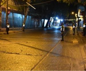 Calles solas en Santa Marta.