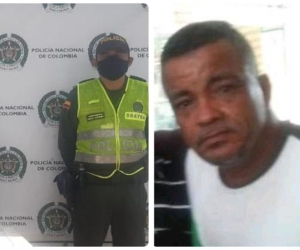 Alberto Ulloque Beleño, fallecido después de haber sido detenido por violar la cuarentena.
