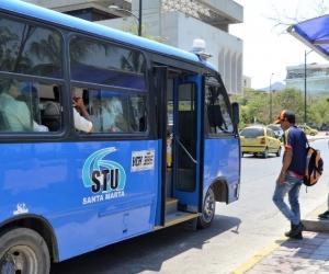 Transporte público de Santa Marta.
