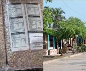 La comunidad a través de las redes denunció que los alimentos estaban vencidos, sin embargo, el alcalde manifestó que todo se trata de un tema político y desmintió esa versión.