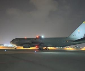 Avión de la Fuerza Aérea Colombiana - referencia.