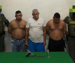 Capturados por tortura en Barranquilla.
