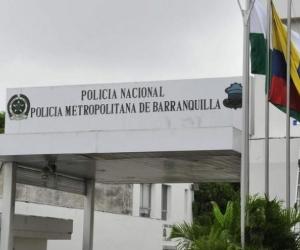 Comando de la Policía Metropolitana de Barranquilla.