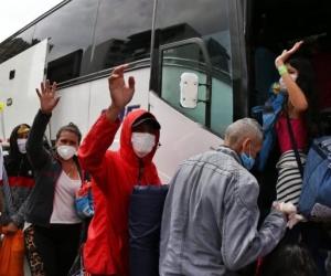 Quintero Rangel estaría extorsionando a los conductores de viajes humanitarios coordinados por Migración Colombia.