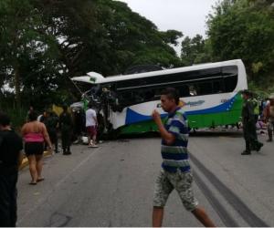 El accidente se registró en la tarde del 5 de mayo del presente año.