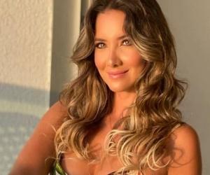 Daniella Álvarez, presentadora.
