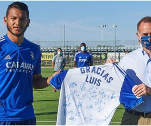 Con 19 goles anotados en la campaña el samario se despidió el Zaragoza.