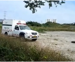 El cuerpo fue hallado en la mañana de este miércoles.