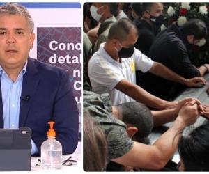 """El presidente Iván Duque se refirió a las masacres como """"homicidios colectivos""""."""