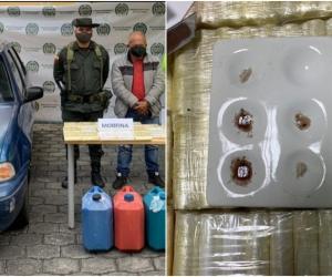 Esta droga tenía como destino principal el país de Ecuador y posteriormente iba ser sacada en lachas rápidas utilizando la costa del vecino país con destino final Centroamérica.