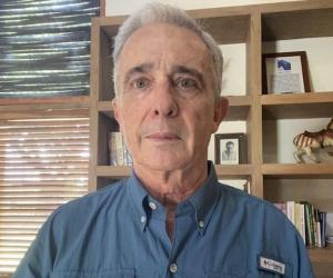 Álvaro Uribe Vélez, exsenador de la República.