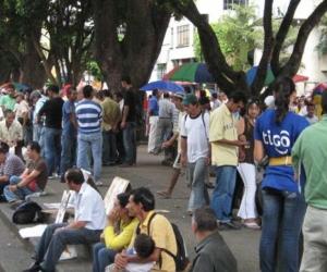 El desempleo en Santa Marta está disparado, pero no está tan mal como en otras ciudades.