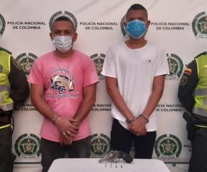 Arnovis Francisco Vargas Sierra y Andrés Felipe Blanco Iguarán.