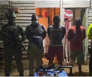 Los implicados serían los encargados de cometer acciones delincuenciales de diversa índole desde Santa Marta hasta La Guajira.
