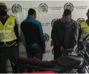 Fueron capturados en el barrio Paz del Río.