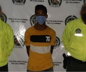 Cristian David Sierra, alias 'Papa Arrecha'.