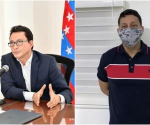 El gobernador señaló a alias '5-5' por el homicidio de Alejandro Llinás.