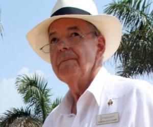 Raimundo Angulo, presidente del Concurso Nacional de la Belleza.