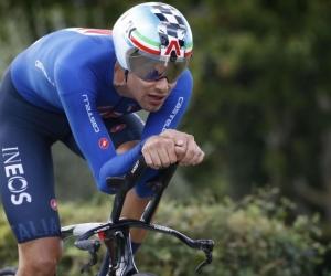 Filippo Ganna, campeón de la prueba.