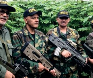 Esta es la foto más reciente que se conoce de los guerrilleros rearmados.