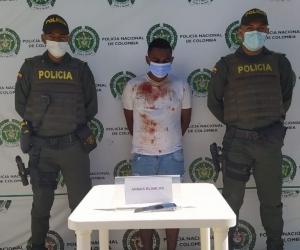 Marlon Enrique Lara Pacheco fue capturado en el barrio Altos Delicias de  Santa Marta