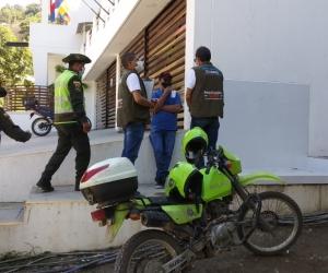Visita de inspección realizada por el Dadsa.