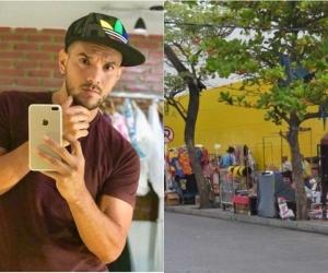 Mamá del diseñador Paul Cartagena fue víctima de robo en los almacenes Éxito