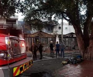 Incendio en Cúcuta.