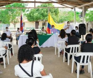 Conmemoración en honor a las víctimas de la masacre.