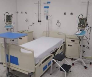 Las camas UCI en la ciudad de Santa Marta se mantienen controladas.