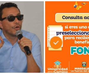 Carlos Caicedo, gobernador del Magdalena, prometió y no ha cumplido.